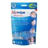 美国EZYWIPE  压缩清洁毛巾  S号 25片  户外旅行 婴儿护理