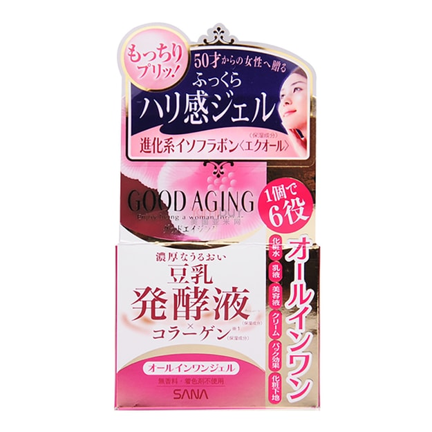 Product Detail - 【Clearance】SANA GOOD AGING MOISTURE GEL 100g - image 0