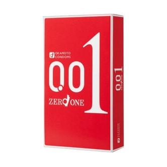 OKAMOTO  001 0.01 Condoms 3pcs
