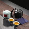 CAITONGCHANG Travel tea set fast passenger cup portable Japanese-style simple car ceramic gifts