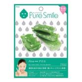 日本PURE SMILE 乳液精华面膜 芦荟保湿补水 单片入