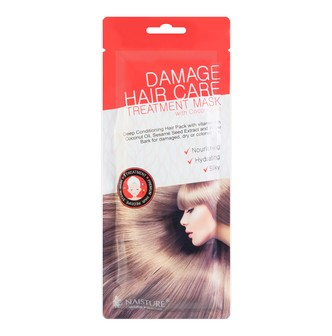 NAISTURE Damage Hair Care Treatment Mask with Coconut Oil 35g
