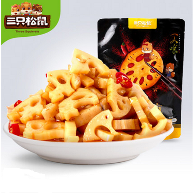Product Detail - Three Squirrels Spicy Lotus Root - image  0
