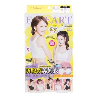 TAIWAN E-HEART White Sexy V-Line Beauty Bra L