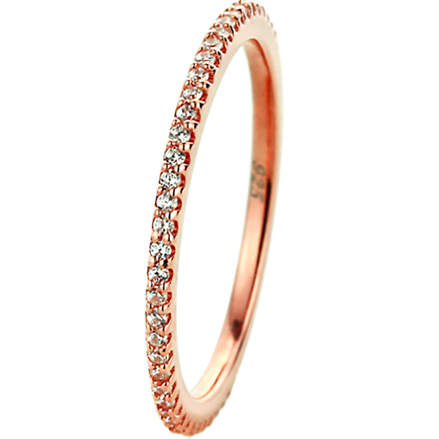 Product Detail - JDREY 14K Rosegold Eternity Ring1 Piece - image 0