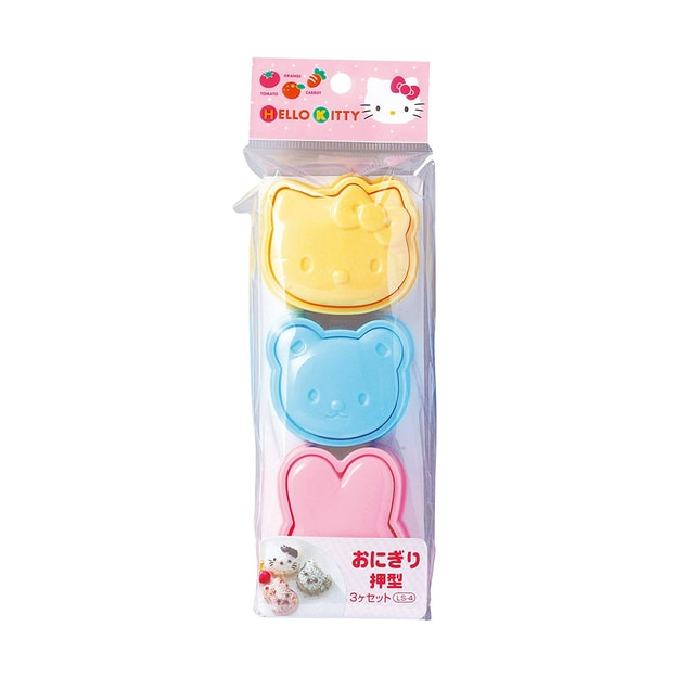 Product Detail - OSK Hello Kitty Rice Ball Pushing Mold for Lunch Box - image 0