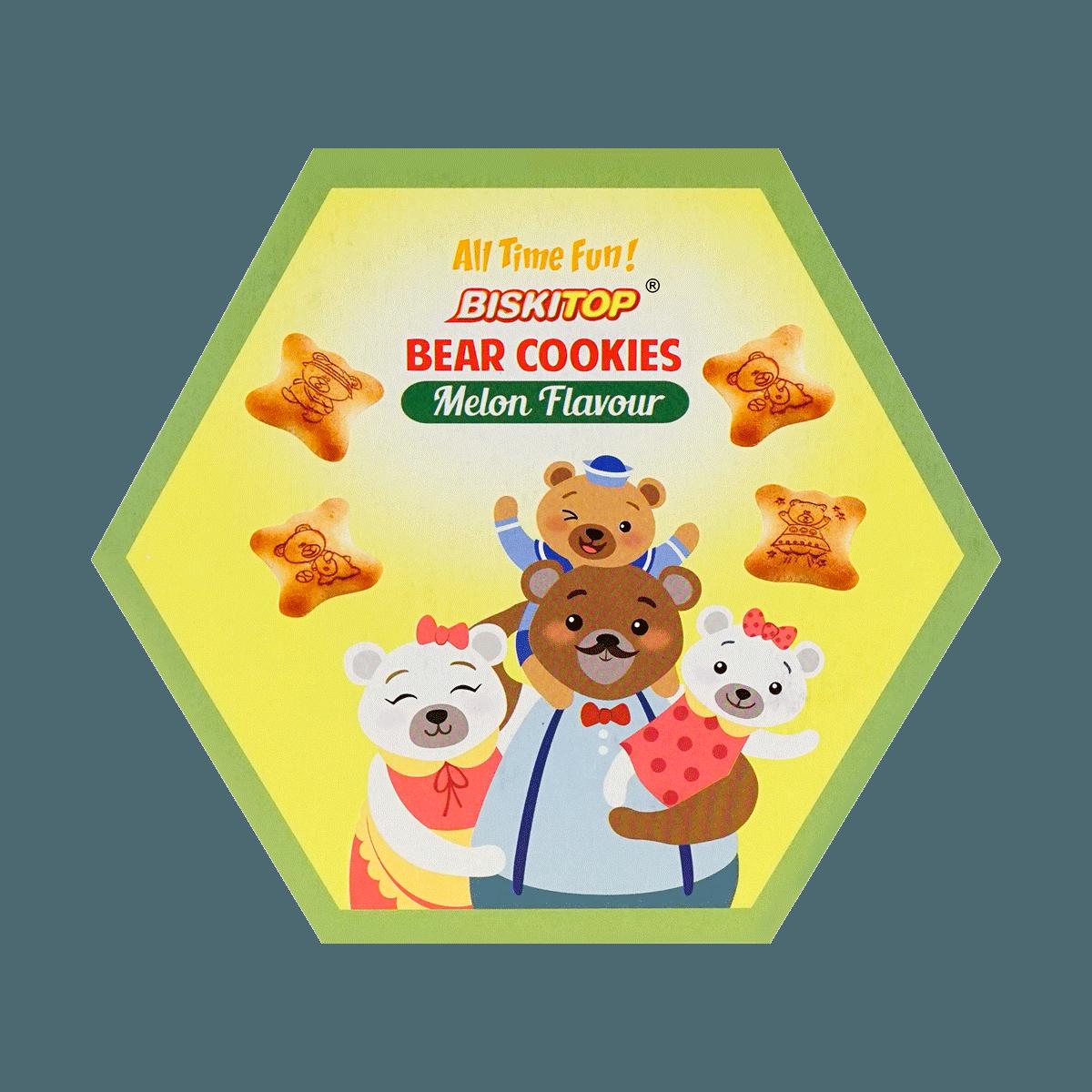 Yamibuy.com:Customer reviews:BISKITOP Bear Cookies Melon Flavor 5pk