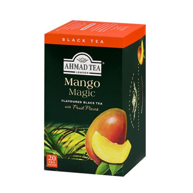 商品详情 - 英国亚曼AHMAD TEA 水果红茶茶包 芒果味 20包入 - image  0