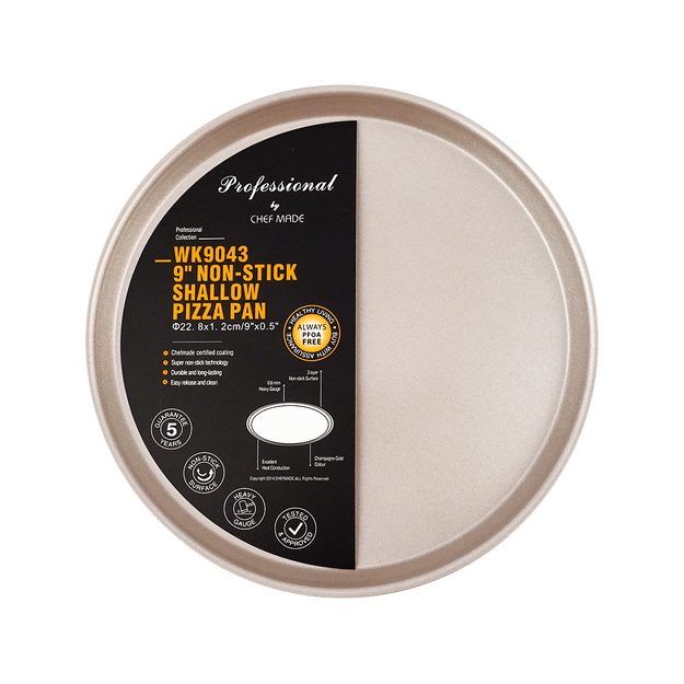 Product Detail - Chefmade Handmade Pizza Baking Mold Golden 9inch Light - image 0