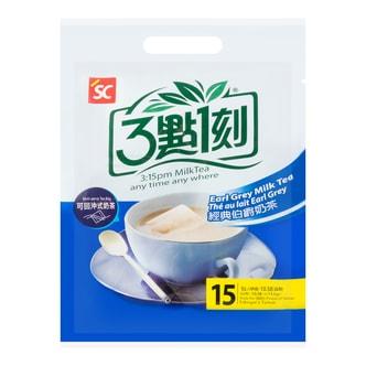 台湾三点一刻 可回冲式经典伯爵奶茶 15包入 300g