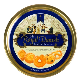 ROYAL DANISH Butter Cookies Tin 454g