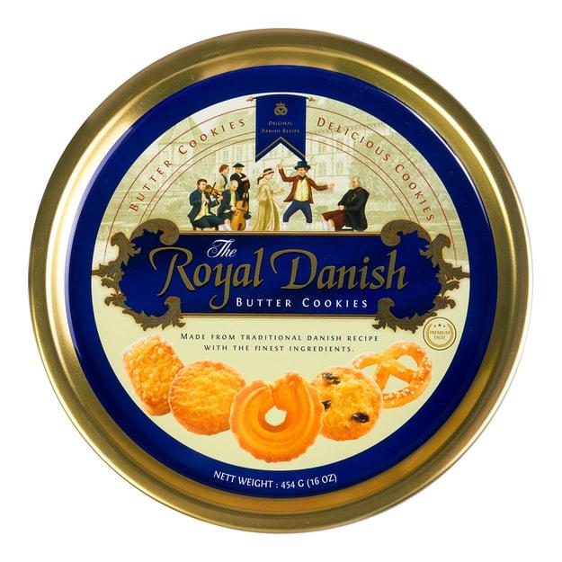 商品详情 - 丹麦ROYAL DANISH 皇家黄油曲奇饼干 454g - image  0