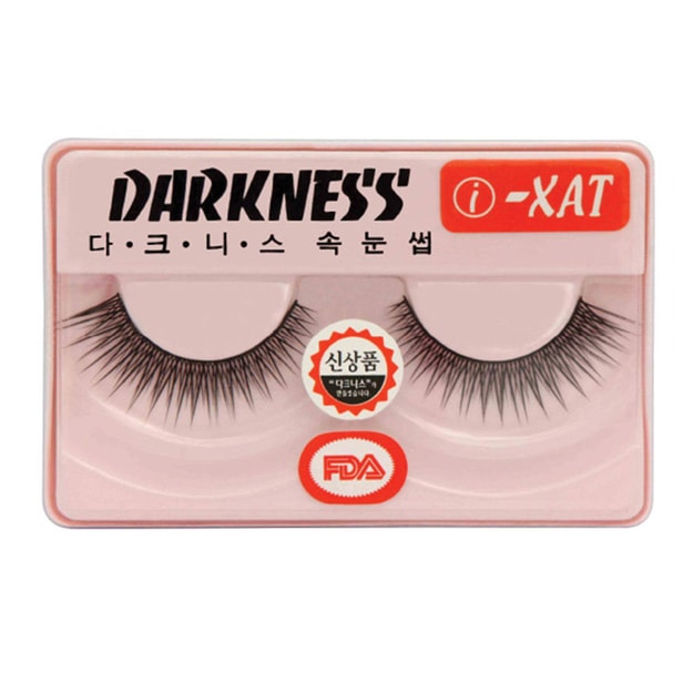 Product Detail - DARKNESS False Eyelashes #IXAT 1Pair In 1Box - image 0