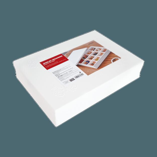 Product Detail - Miniso Relievo Patterns Jewelry Organizer ( White ) - image 0