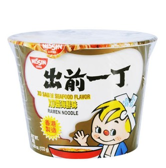 NISSIN Demae Iccho Instant Noodle With Soup Base XO Sauce Seafood Flavor 133g