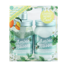 AMINO MASON Moist Fragrance of Mint Blossom Bouquet set