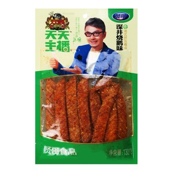 XIANGE Spicy Gluten La Tiao Roast Goose 130g Famous Chinese Special Snack