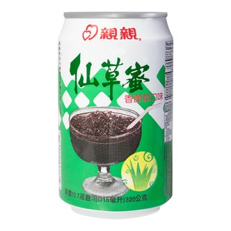 CHINCHIN Grass Jelly Drink Pandan Leaf Flavor 320g