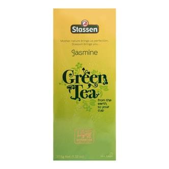 斯里兰卡STASSEN司迪生 茉莉绿茶 25包入