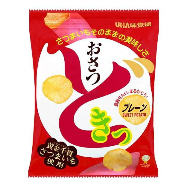 商品详情 - 日本UHA悠哈 红薯片 65g - image  0
