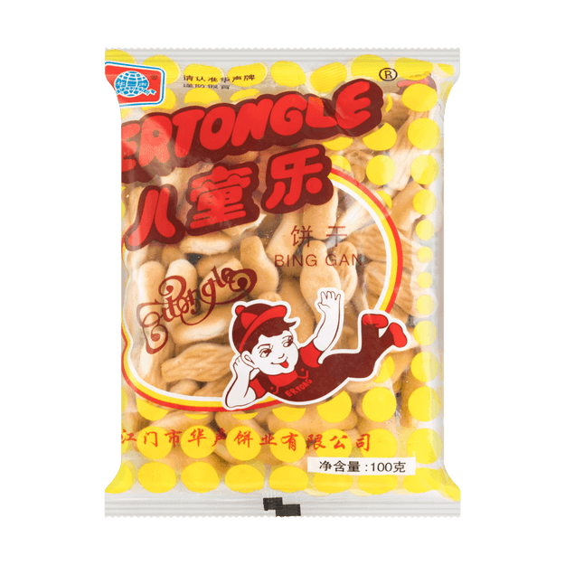 Product Detail - Er Tong Le Biscuits 100g - image 0