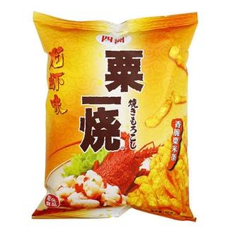 四洲 粟一烧 香脆粟米条 龙虾味 80g