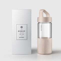 BUYDEEM Portable-mug pink 400ml