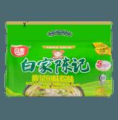 白家陈记 非油炸 酸菜鱼味粉丝 5包入 550g