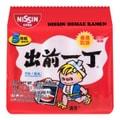 日本NISSIN日清 出前一丁 即食汤面 麻油味 5包入 500g