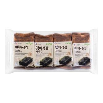 韩国CJ希杰 BIBIGO必品阁 即食海苔 8包入 40g