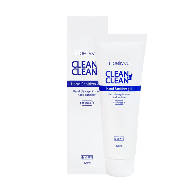 Product Detail - Korea i belivyu Clean to Clean Hand Sanitizer Gel (Contains Alcohol) (120ml) kills 99% of gems - image 0