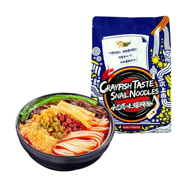 Product Detail - Happysnail liuzhou snail rice noodles crayfish taste  320g - image 0