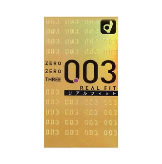 OKAMOTO 0.03 Real Fit Lubricated Condoms Ultra Thin 10pc