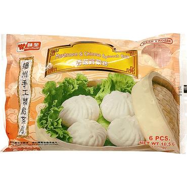 味全 扬州手工精点系列 香菇荠菜包