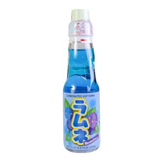 日本HATA RAMUNE 蓝莓味弹珠汽水 200ml