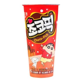韩国HAITAI海太 小新双色桶巧克力脆棒 45g