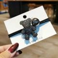 灰姑娘精选 新款可爱小熊头绳 #灰色