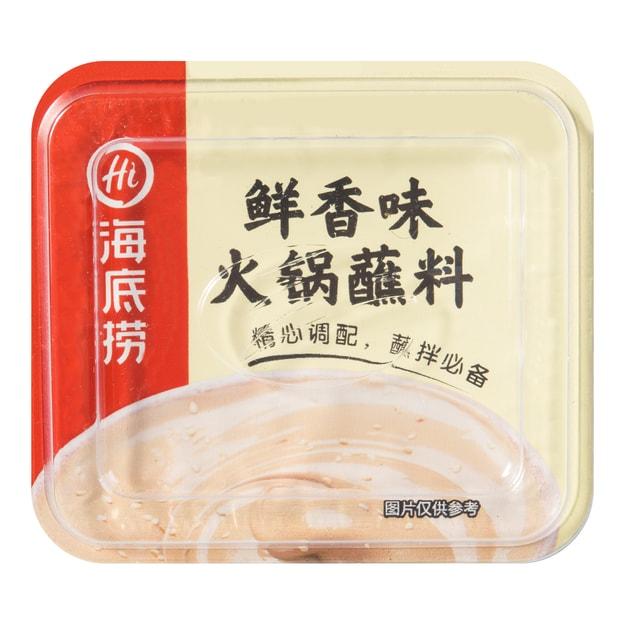 商品详情 - 海底捞 火锅蘸料 鲜香味 140g - image  0