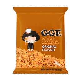 WEILIH GOOD GOOD EAT Wheat Cracker Original Ramen Flavor 80g (Random Delivery of 2 Packaging)