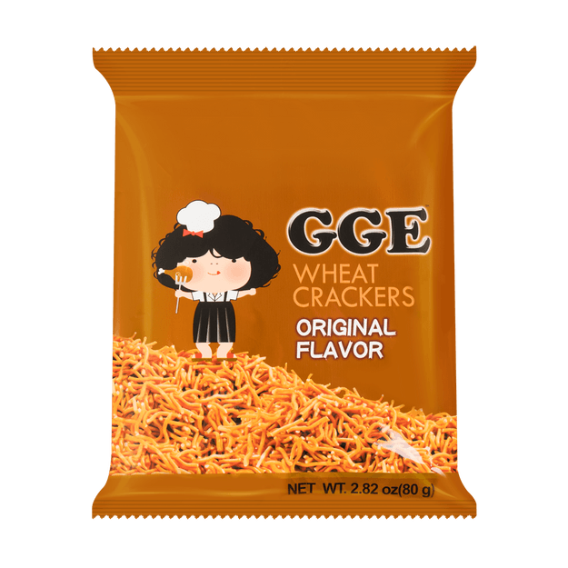 Product Detail - WEILIH GOOD GOOD EAT Wheat Cracker Original Ramen Flavor 80g (Random Delivery of 2 Packaging) - image 0