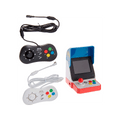 Neogeo Mini Pro Player Pack - Includes 2 Game Pads (1 Black & 1 White) HDMI Cable Power Cable -American Version