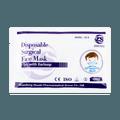 ZHUSHI Disposable 3ply Children Kids Non-Woven Fabric Surgical Face Mask 10pcs 14.5cm× 9.5cm
