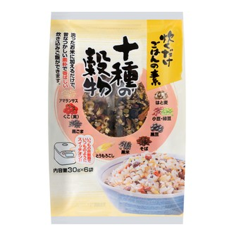 CHIKIRIYA 10 Whole Grain Rice 6packs