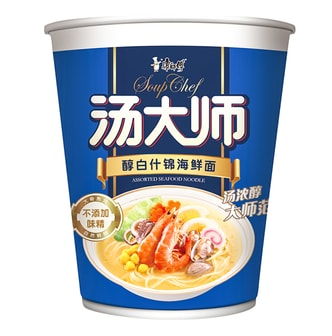 MASTER KONG Assorted Seafood Noodle 75g