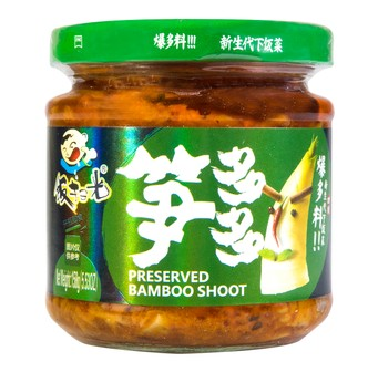 FANSAOGUANG Preserved Bamboo Shoot 158g
