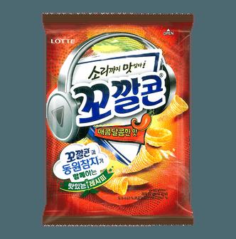 LOTTE Sweet Spicy Corn Snack 77g