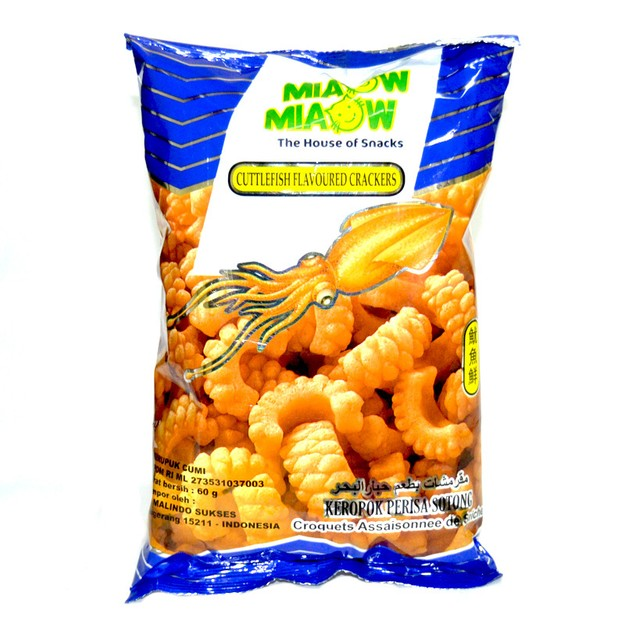 商品详情 - 【马来西亚直邮】马来西亚MIAOW MIAOW妙妙 鱿鱼味卷 60g - image  0