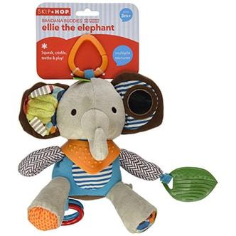 美国SKIP HOP 悬挂玩具 牙胶玩具 玩偶 ---大象