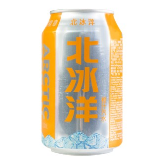 北冰洋 橙汁汽水 罐装 330ml 老北京风味
