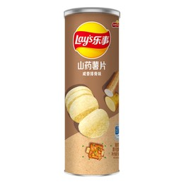 LAY'S Potato Chips - Stax Yam Chips Pork Rib 90g